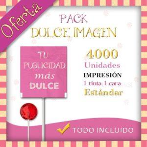 Pack Dulce Imagen Piruletas Redondas Clásicas