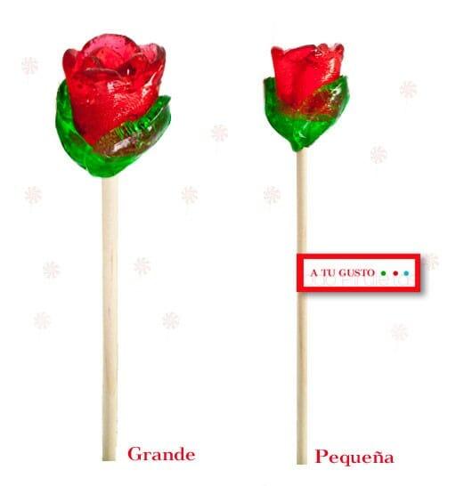 Piruletas Rosa Artesanal Personalizadas
