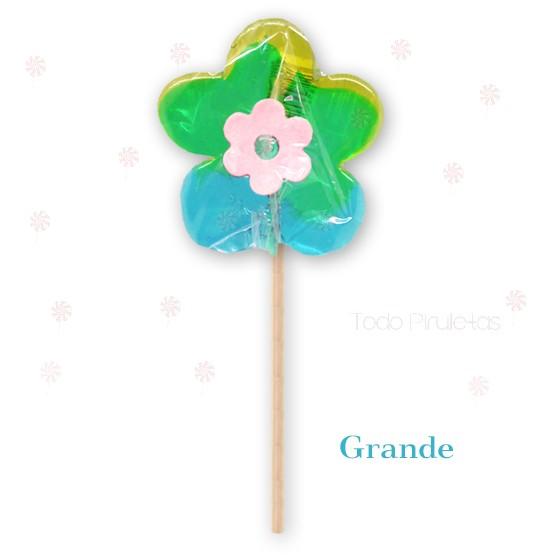 Piruletas Artesanales Flor Personalizadas
