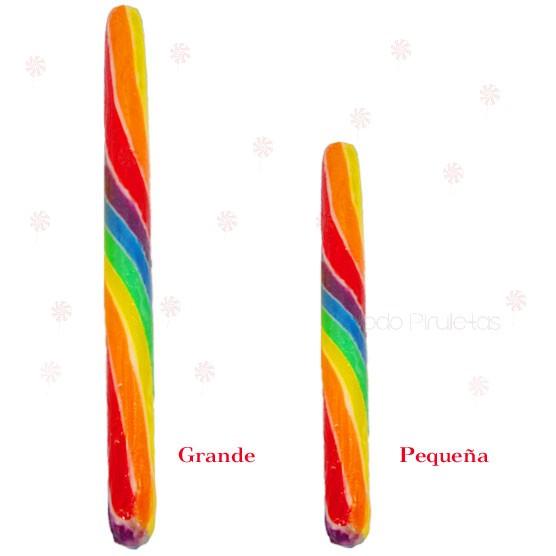 Piruleta Barra Multicolor Personalizado