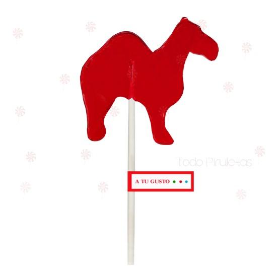 Piruletas Navidad Camello Personalizadas