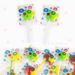 Piruletas Diseño Genérico Flores