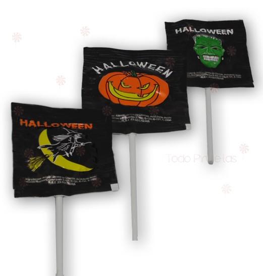 Piruletas Halloween Genericas