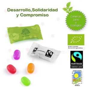 caramelos personalizados ecologicos