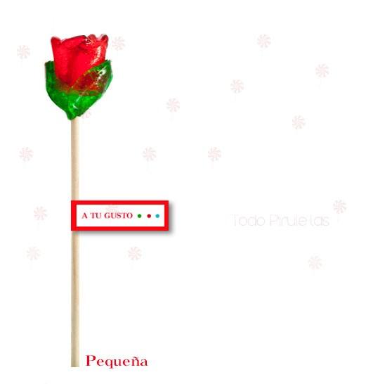 Pack San Valentín - Piruletas Rosa Personalizadas