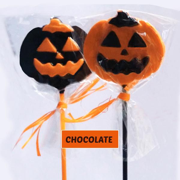 Piruletas Chocalate Calabaza Halloween Halloween