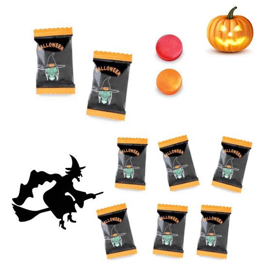 Caramelos Halloween Sobre Genéricos