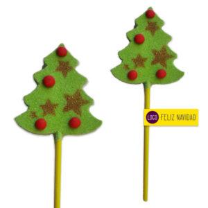 Piruletas Navidad Gominola Arbol de Navideño
