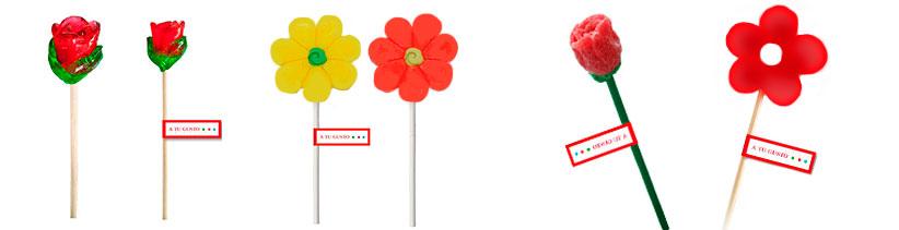 flores gominola personalizadas