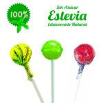 Chup chups Clásico Sin Azúcar Personalizados con Estevia