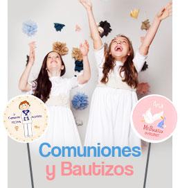 piruletas para comunion y bautizos
